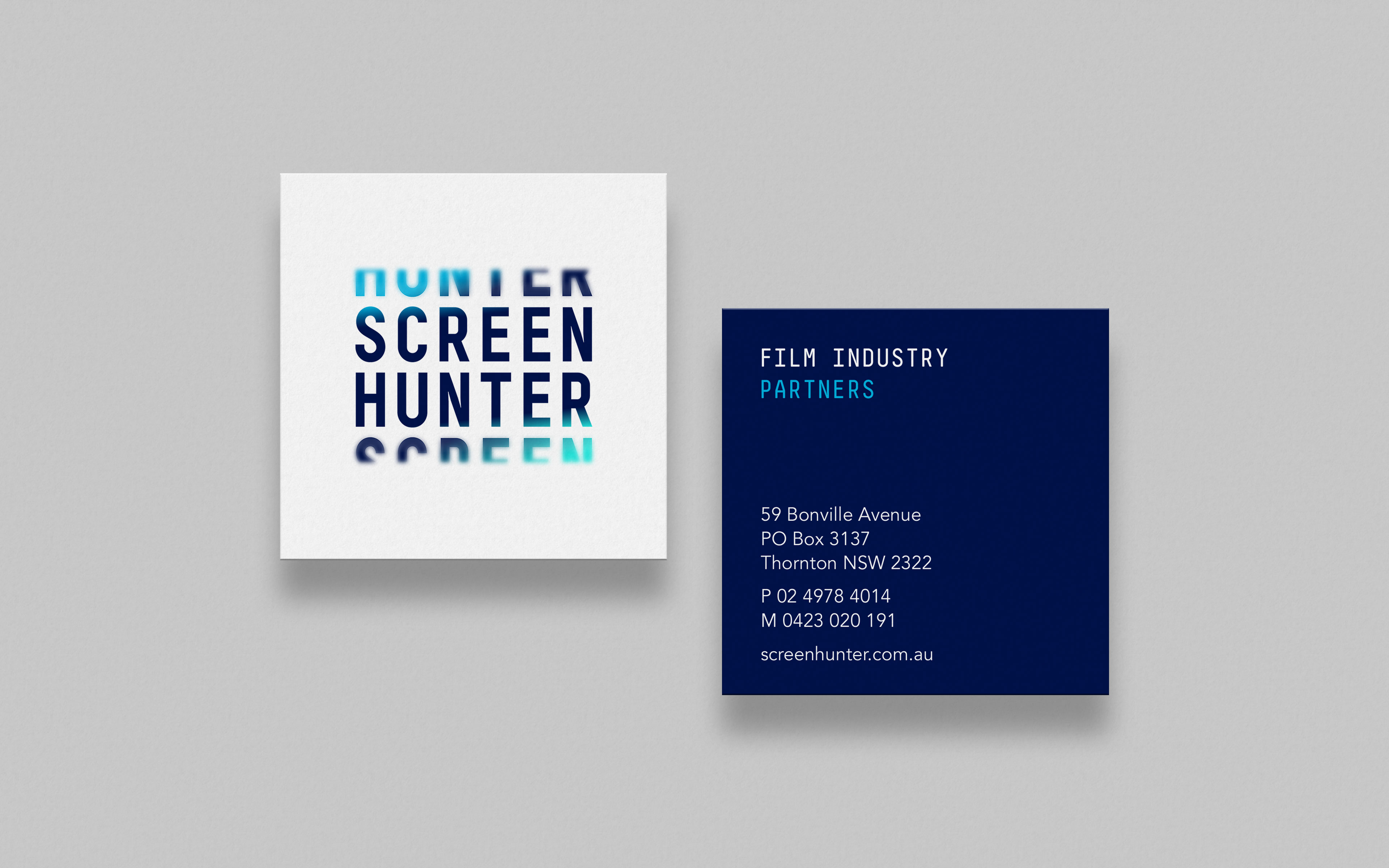 Screen Hunter Business Card