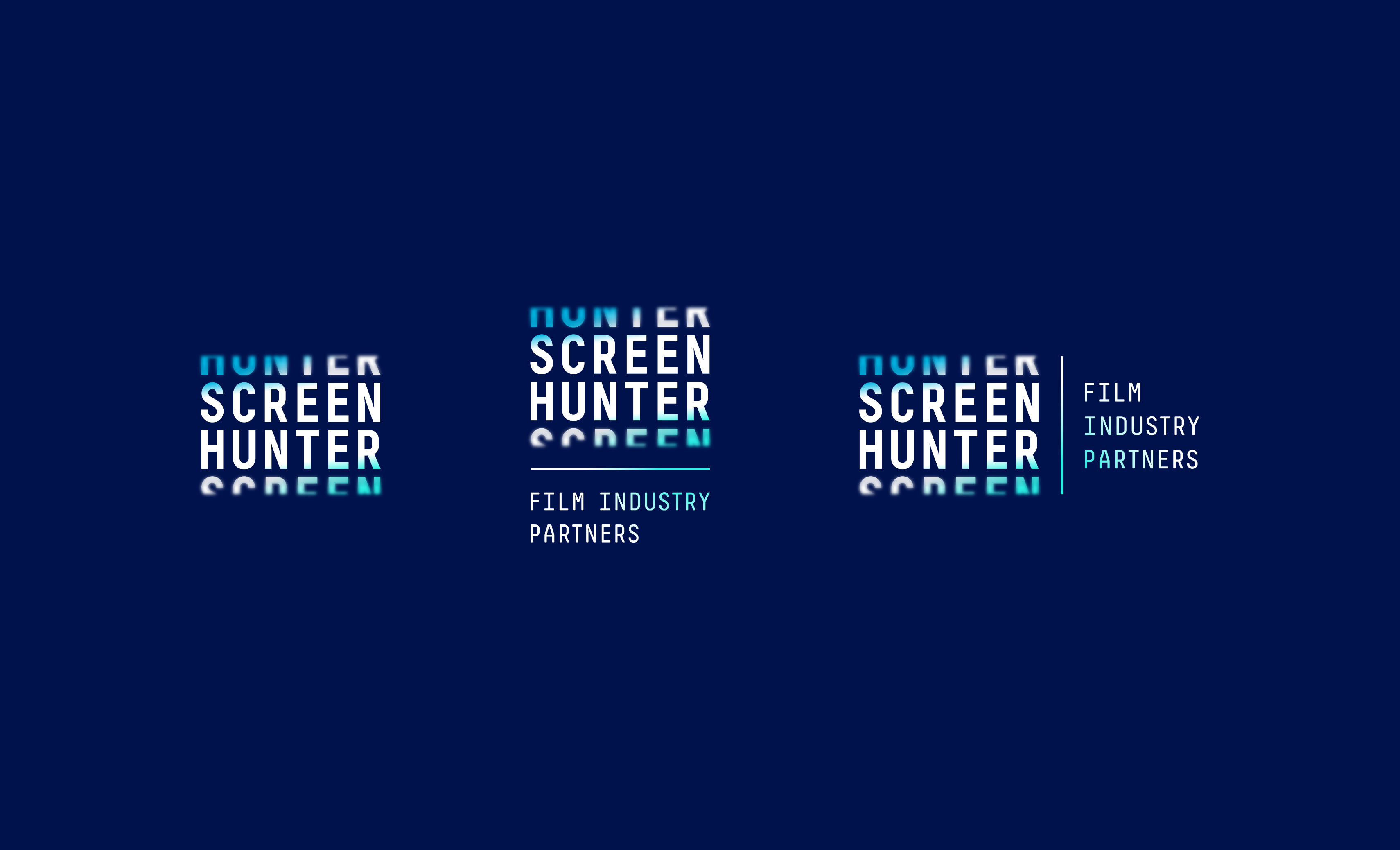 Screen Hunter Logo Variations