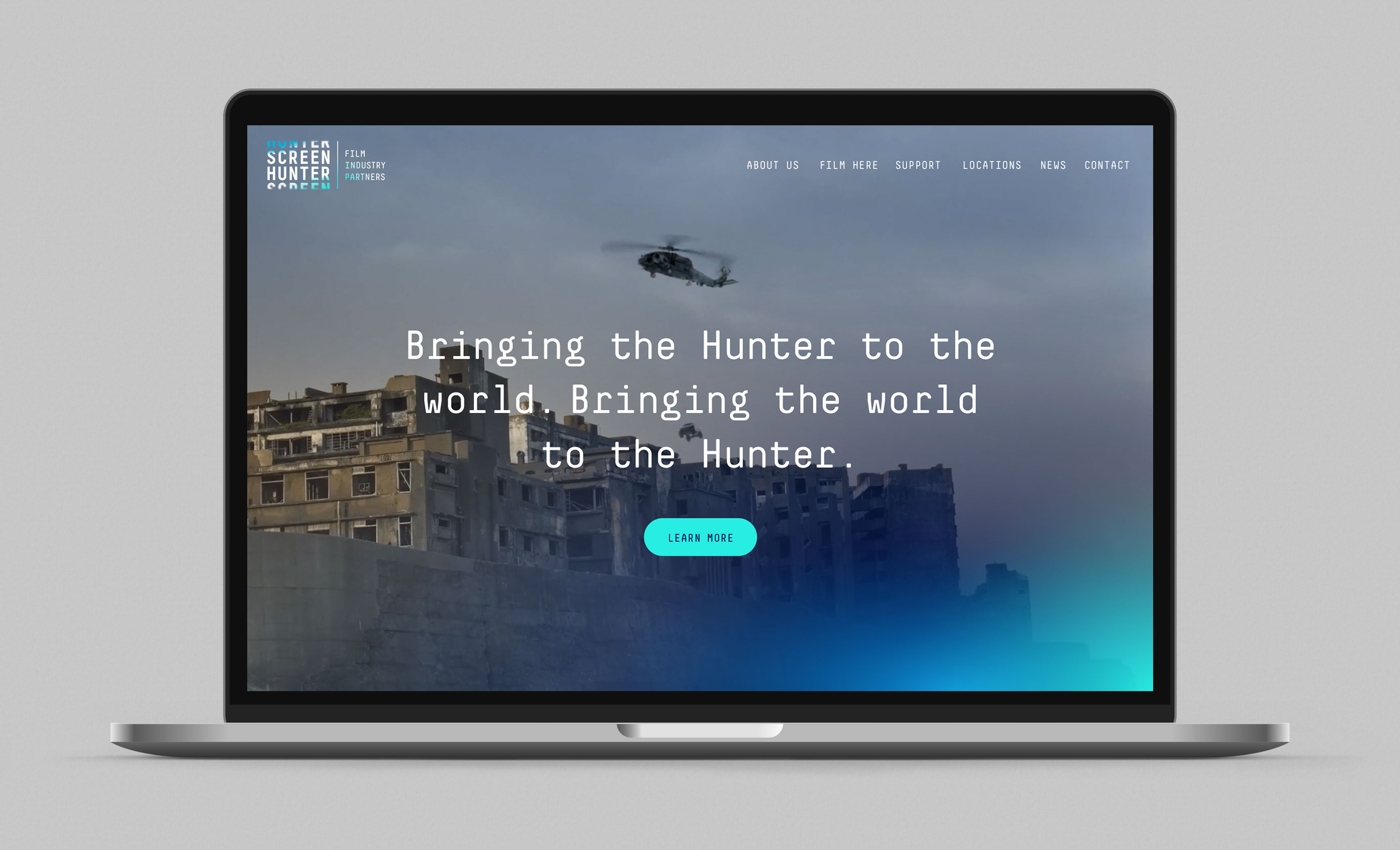 Screen Hunter Website