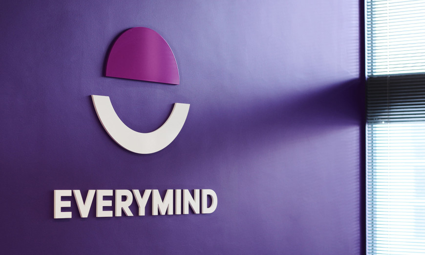 Everymind rebrand sign