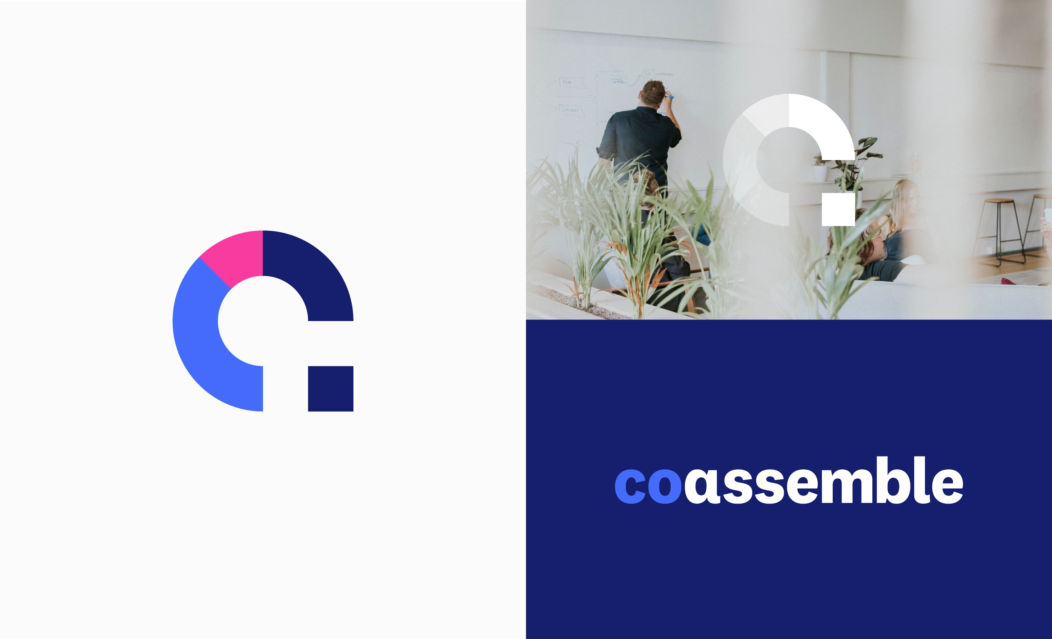 Coassemble Logo Design
