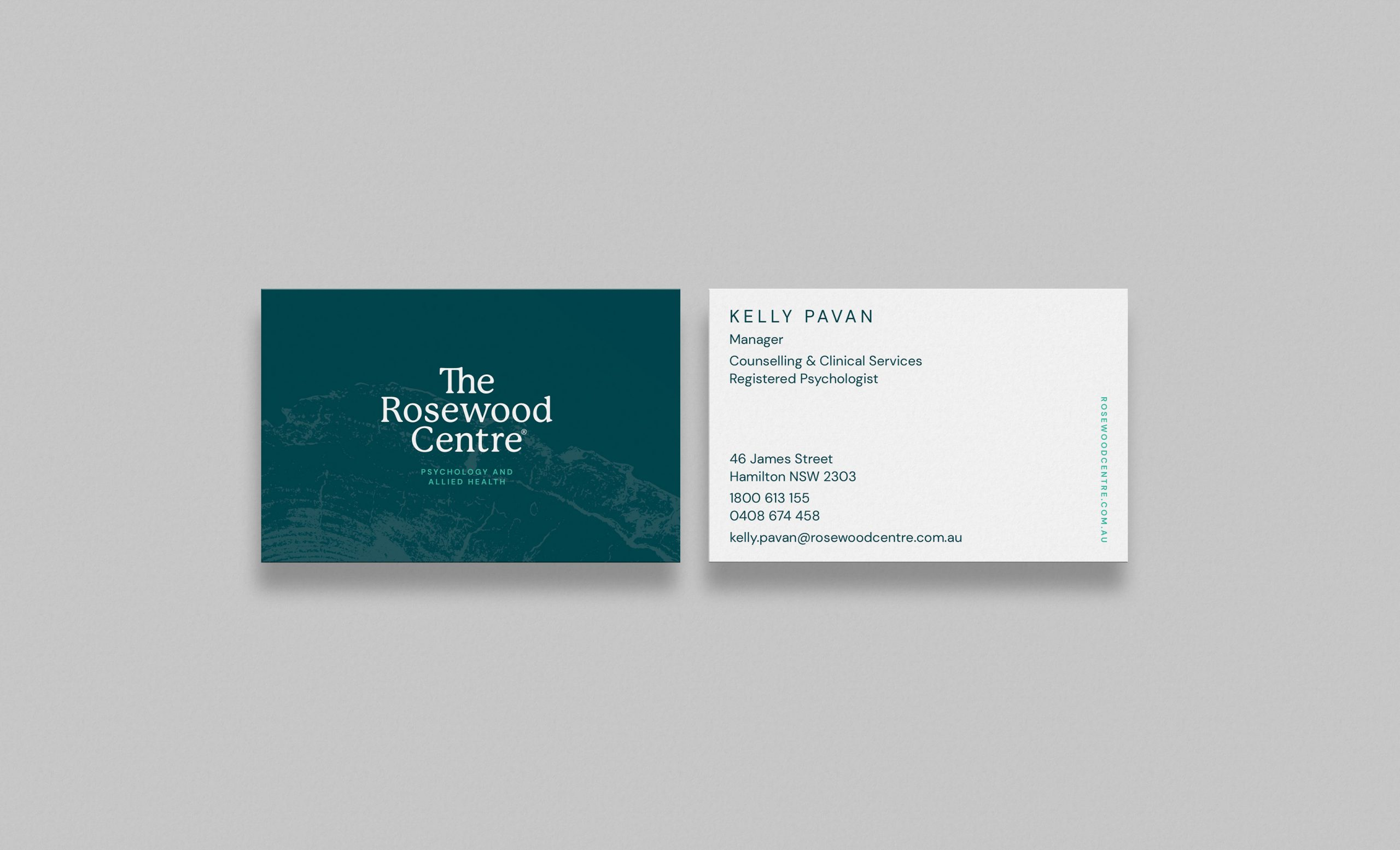 The Rosewood Centre Business Card