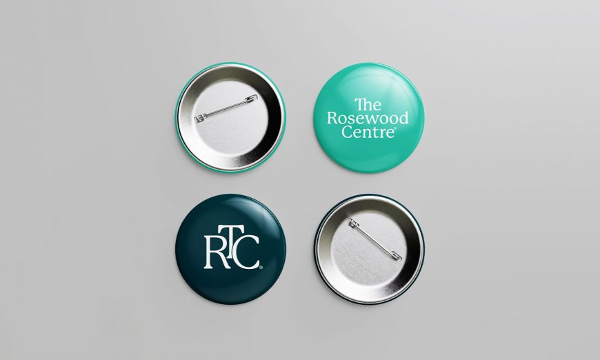 The Rosewood Centre Pin Design